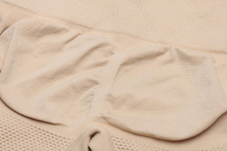 MISS MOLY Miederpants Bauch Weg Miderhose mit Bein Figurformende Shapewear Damen ShapePants 4X 9cm Stangen Hohe Taille Taillenformer Stark Formend Butt Lifter Effekt Body Shaper Shaping Unterw/äsche