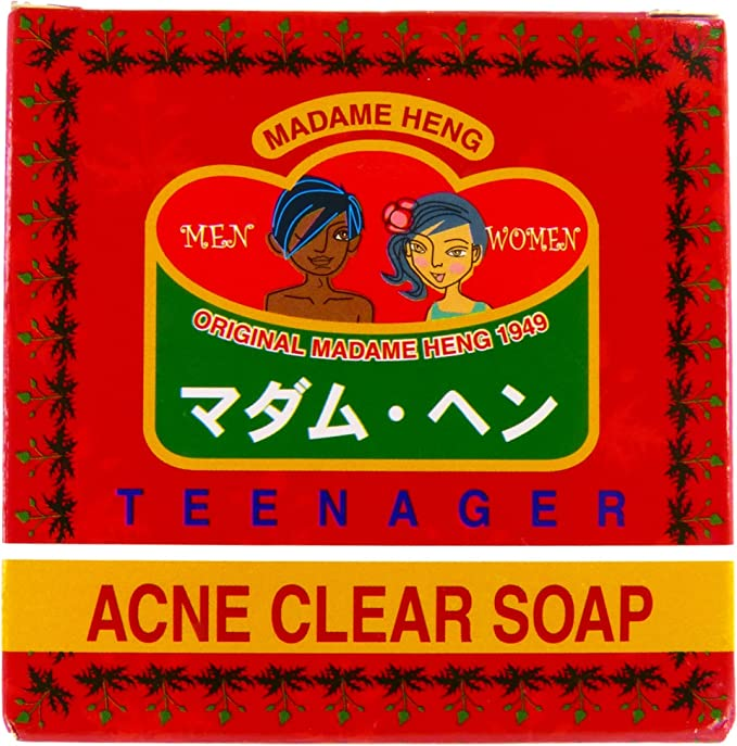 Amazon.com: Madame Heng Teenager Acne Clear Soap- From Thailand: Arts, Crafts & Sewing