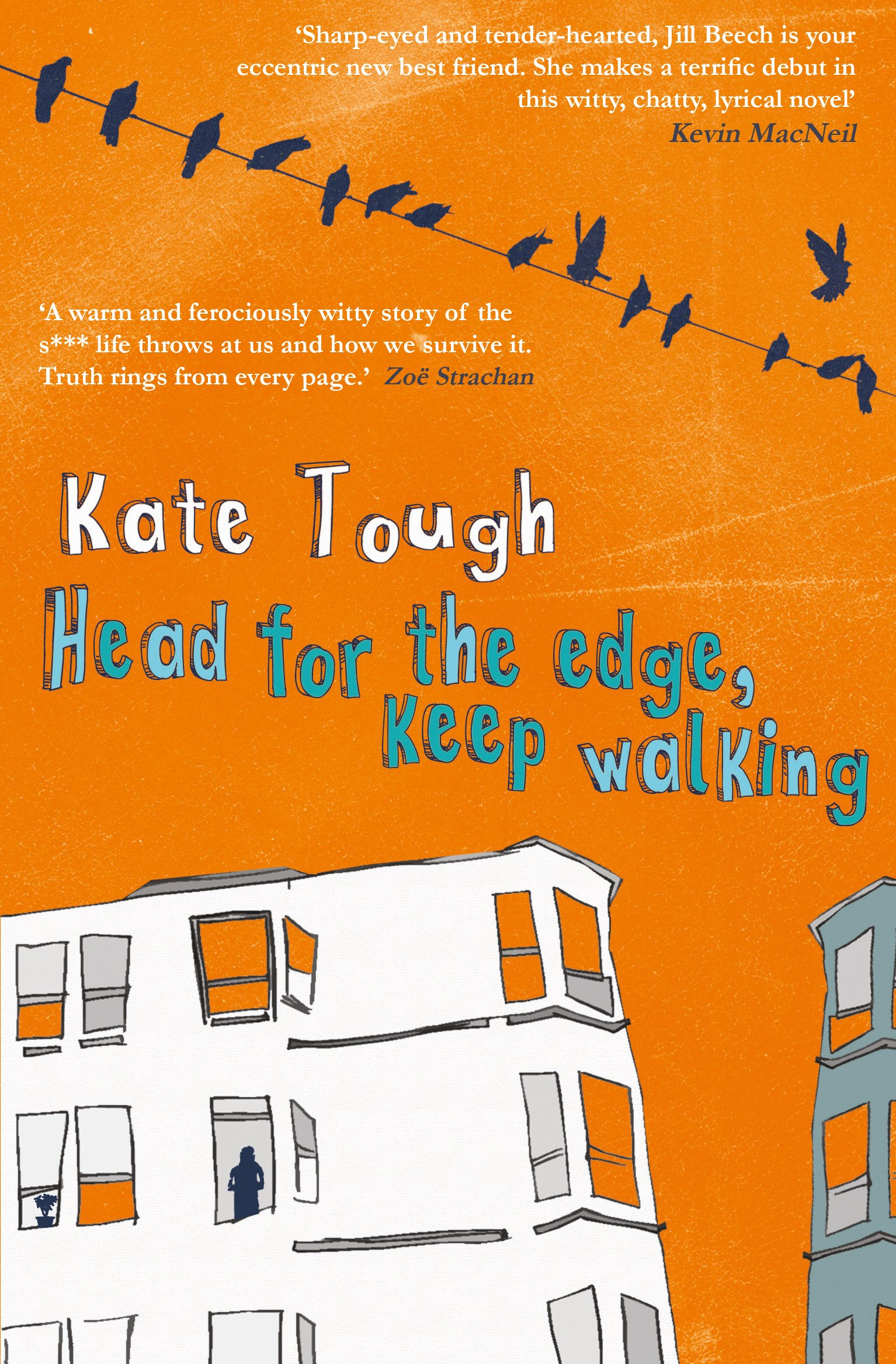 Image result for head for the edge keep walking