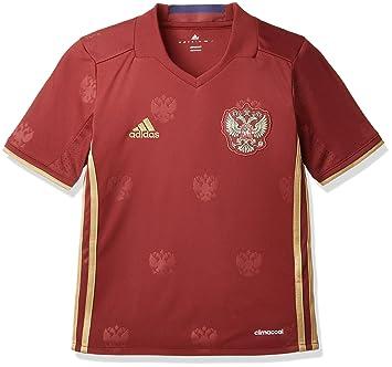 Adidas RFU H JSY Y - Camiseta para niño, Color Rojo/Amarillo, Talla 152: Amazon.es: Deportes y aire libre