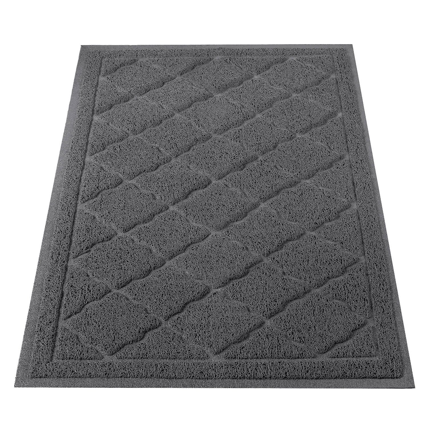 ALTMAN Cat Litter Mat Non-Slip Jumbo Size(38'' x 23'') Kitty Mat, Traps Litter from Box and Paws, Soft on Sensitive Paws and Easy to Clean