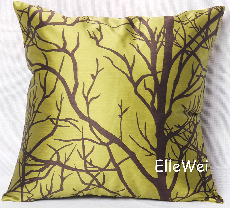 Amazon ElleWeiDeco Modern Silver Gray Throw Pillow Cover