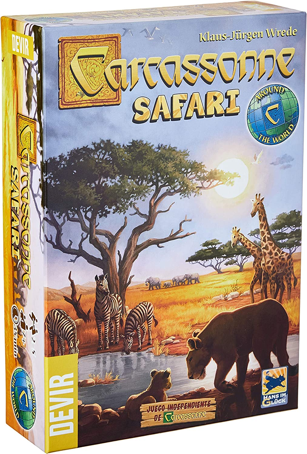 Devir- Carcassonne Safari - Juego de Mesa, Color (BGCARSA): Amazon ...