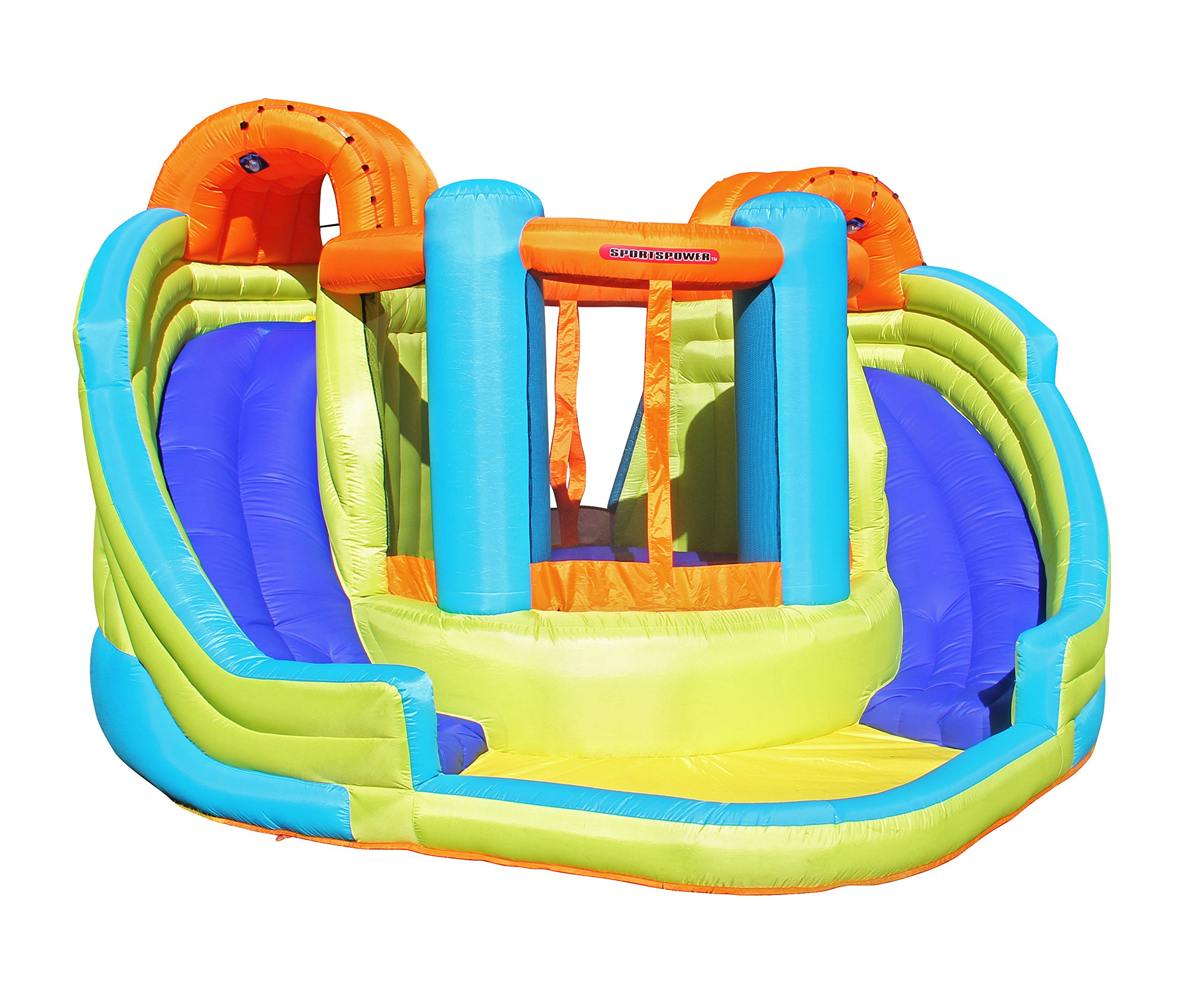 Sportspower Double Slide and Bounce Inflatable Water Slide by Sportspower