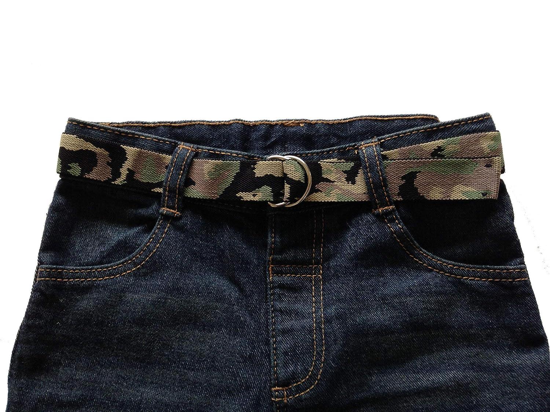 Maxi Belts - Camouflage D Ring Belts (Childrens Handmade Accessories: Belts & Braces)