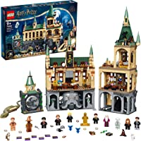 LEGO 76389 Harry Potter Hogwarts Chamber of Secrets Modular Castle Toy with The Great Hall, 20th Anniversary Set with…