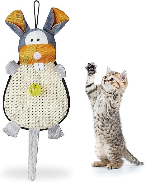 Relaxdays, Multicolor, 55 x 22 x 10 cm Rascador para Gatos para ...