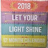 Let Your Light Shine - 2018 Wall Calendar (Light)
