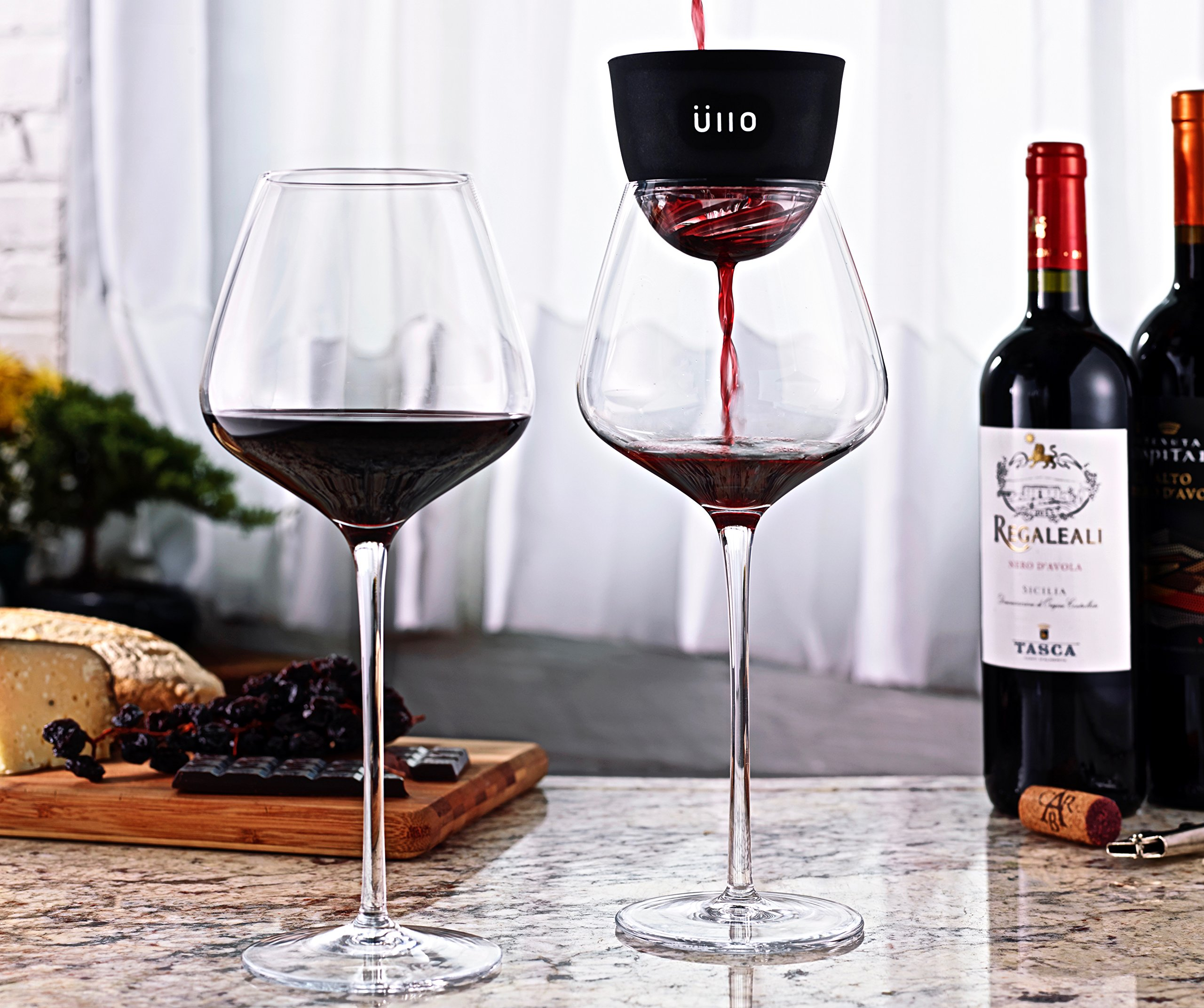 Ullo Wine Purifier and Angstrom Wine Glasses by Ullo (Image #6)