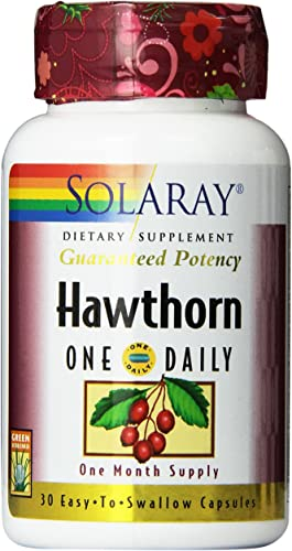 Solaray One Daily Hawthorn Extract Supplement