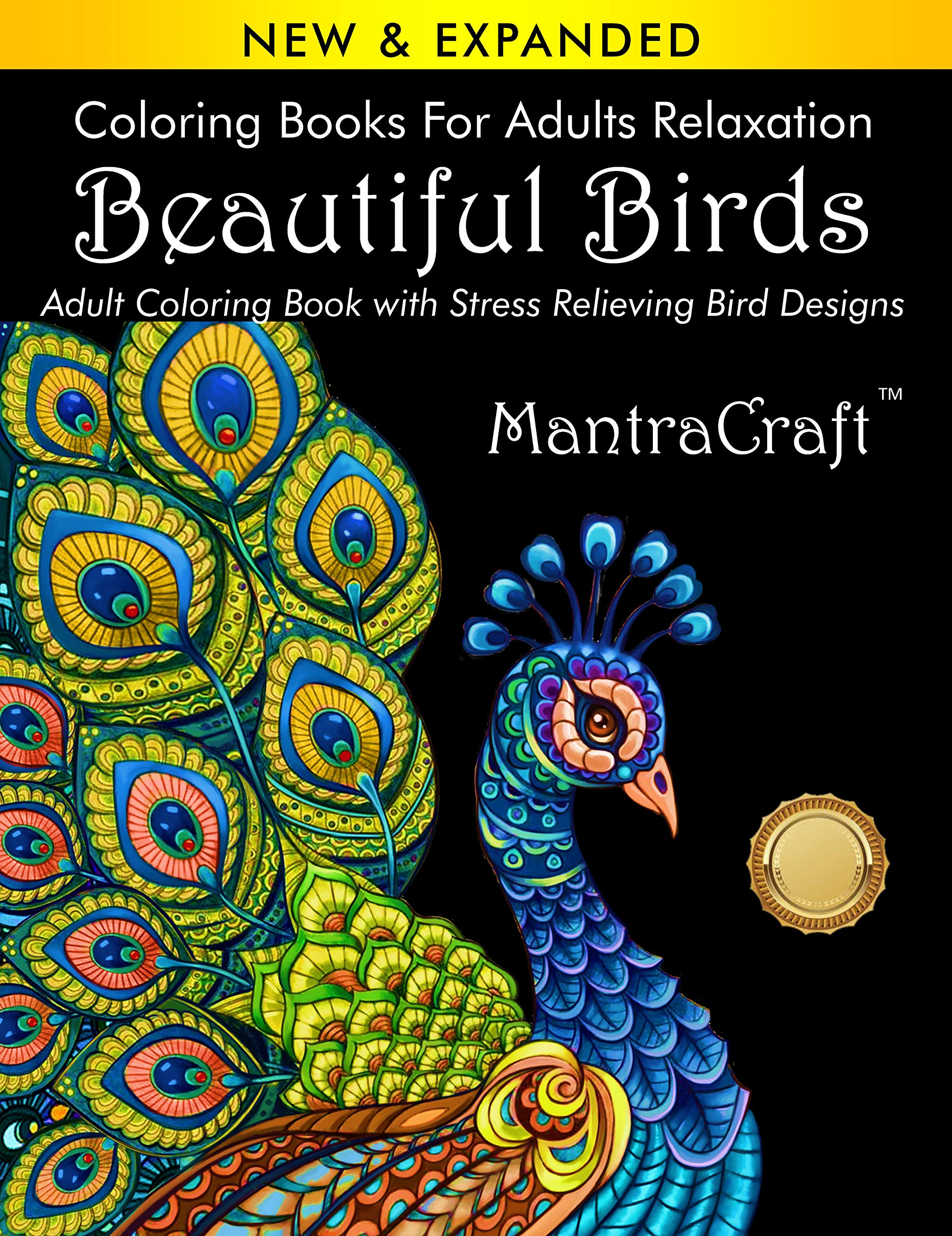 Coloring Book Adults Beautiful Relaxation