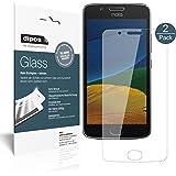 Motorola Moto G5 Plus Pellicola Protettiva - 2x dipos Glass Protezione Vetro Flessibile 9H