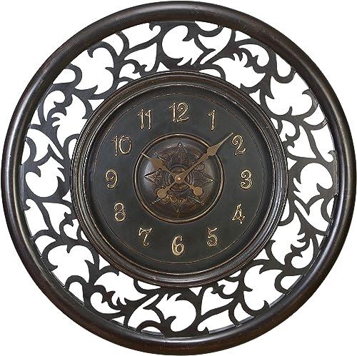 Deco 79 Wood Wall Clock , 36