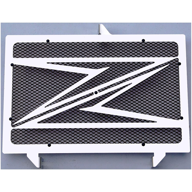 cache radiateur / grille de radiateur Z750 Z800 et Z1000 07>12 design 'Z' + grillage noir Wiltuning