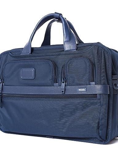 Alpha 2 3-way Briefcase 118-43-2989: Navy