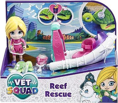 Vet Squad-La Lancha de Rescate de Emily-Equipo (Goliath 334214.006): Juguetes y juegos - Amazon.es