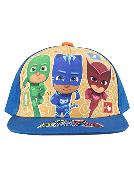 8ebdc7adab6 Image Unavailable. Image not available for. Color  PJ Masks Boys  Catboy  Owlette Gecko Baseball Cap One Size