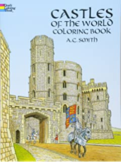 Cathedrals Of The World Coloring Book Dover Coloring Books John