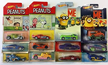 176f910d93 Image Unavailable. Image not available for. Color  12 Hot Wheels  2017 Hot  wheels PEANUTS car ...