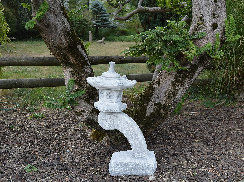 gartendekoparadies.de Top Model Massive Rankei giapponese Lanterna Di Pietra Yukimi stone espressi frostfest