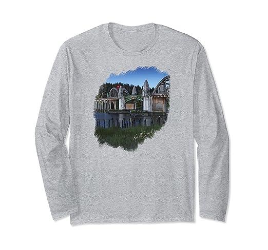 Siuslaw Bridge Long-sleeved T-Shirt