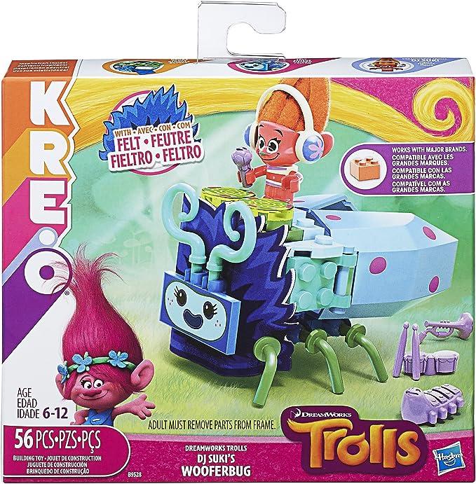Amazon.com: Kreo Dreamworks trols DJ Suki de wooferbug: Toys ...