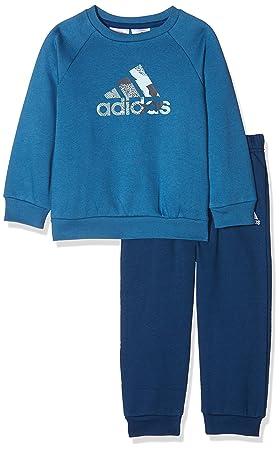 adidas Kinder Badge of Sport Jogginganzug Trainingsanzug