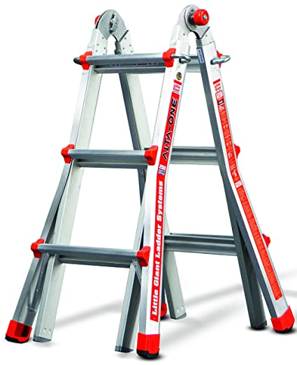 Little Giant Ladder Systems 14010-001 13-Feet 250-Pound Duty Rating ...
