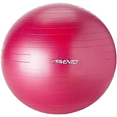 Avento ballon de gymnastique 75 cm Bleu 65 cm