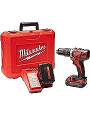 "Milwaukee M4 2607-22CT Rotomartillo Inalámbrico 1/2"" 18 V Vvr 450-1800 Rpm 0-28800 Gpm 2 Bat M18 Carg Caja Plast"