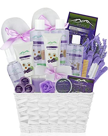 Amazon.com : Premium Deluxe Bath & Body Gift Basket. Ultimate ...