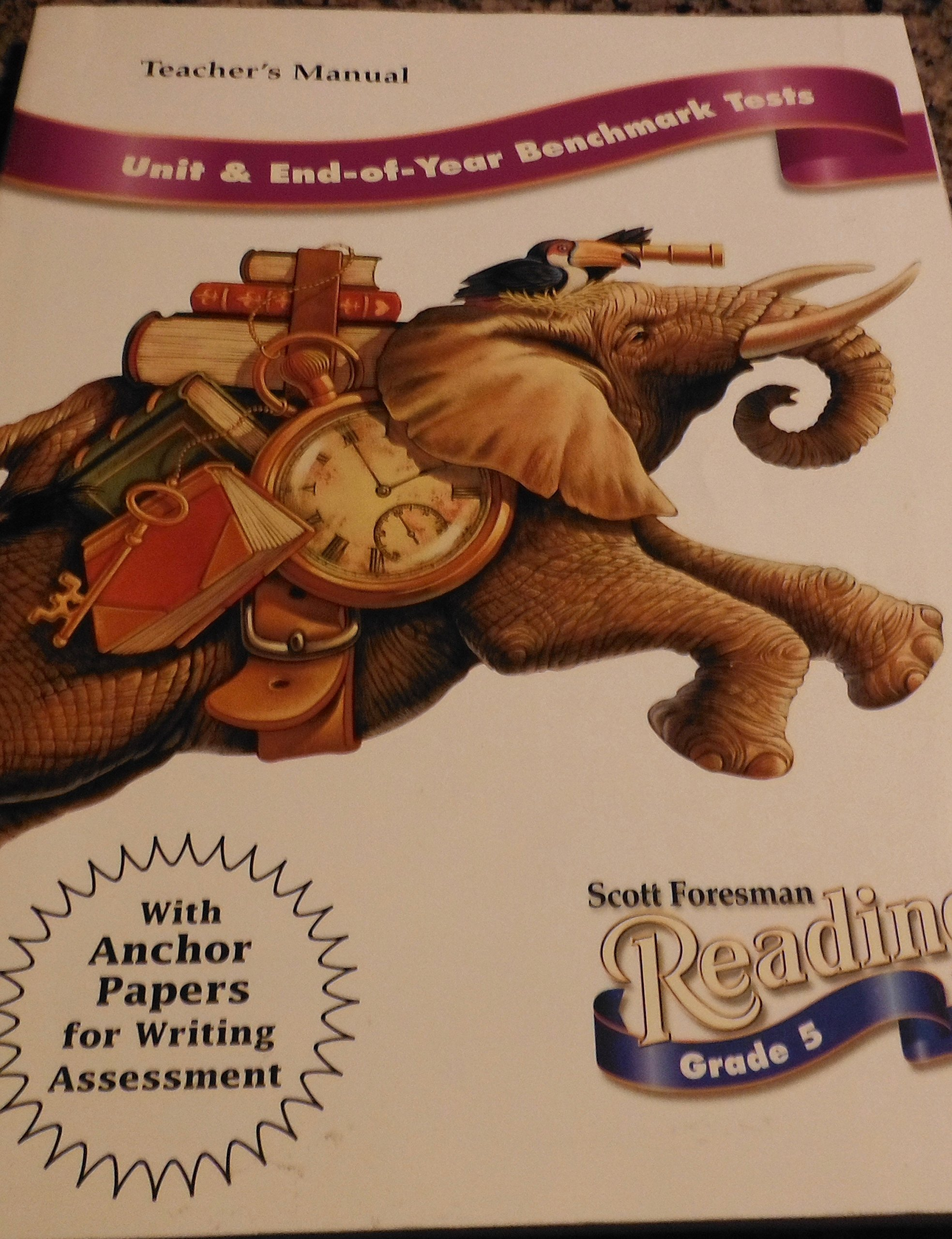 Download Scott Foresman Reading - Unit and End-fo-Year Benchmark Tests - Teacher's Manual - Grade 5 pdf epub