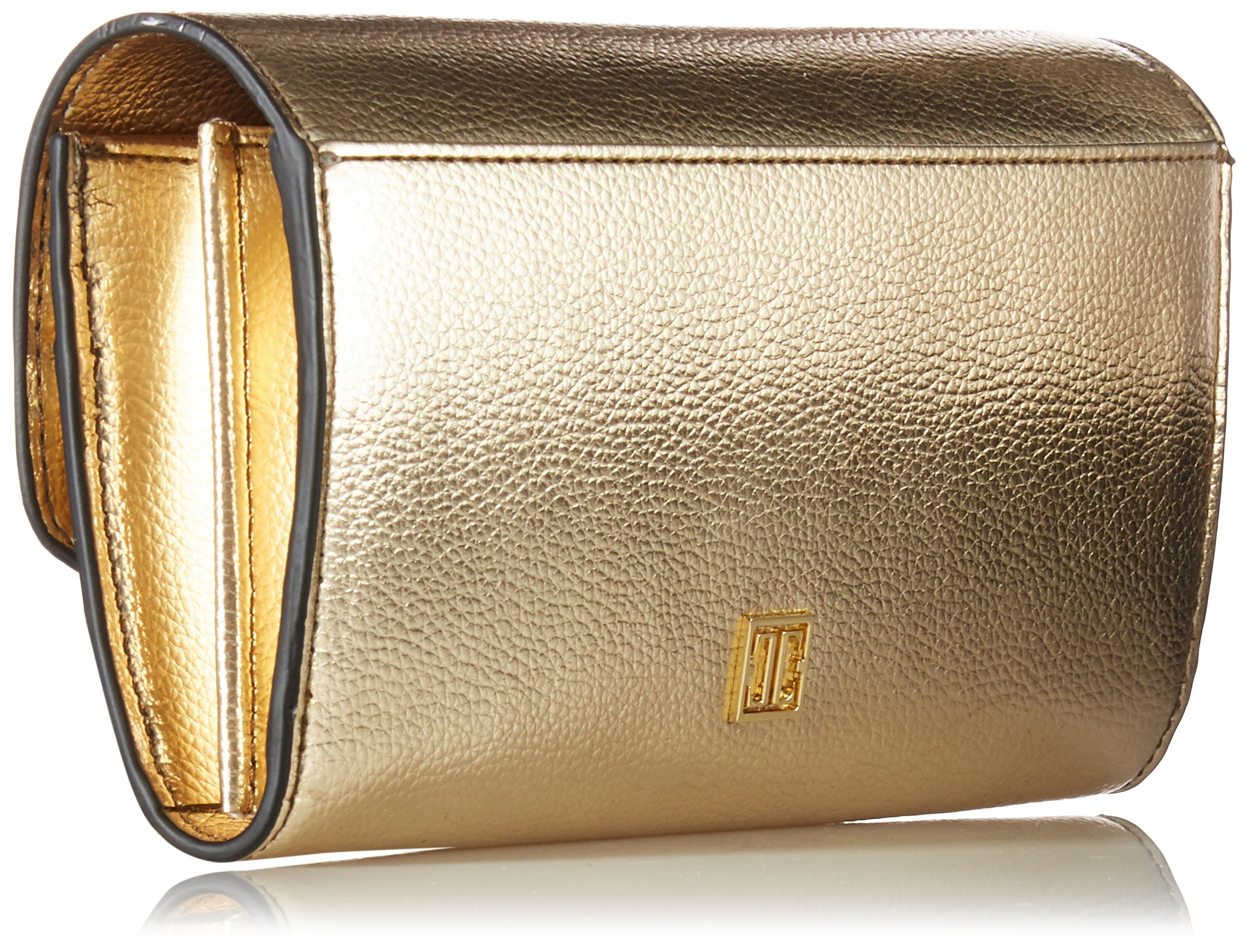 Ivanka Trump Mara Crossbody Wallet-Gold, Metallic Pebble by Ivanka Trump (Image #2)
