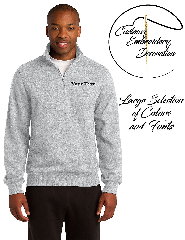 da359942 Quarter Zip Sweatshirt Design Your Own - DREAMWORKS