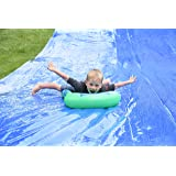 BACKYARD BLAST - 75' X 12' Heavy Duty Waterslide - Includes 2 Riders, Sprinkler, Carrying Bag - Extra Thick to Prevent Tears