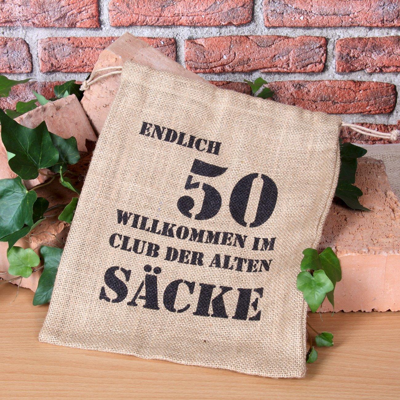 Cera U0026 Toys® ALTER SACK Mit Jahreszahl 50 Als Geschenkverpackung 100%  Biologisch Abbaubar: Amazon.de: Küche U0026 Haushalt