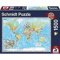 Schmidt Spiele The World Puzzle (1500 Piece)