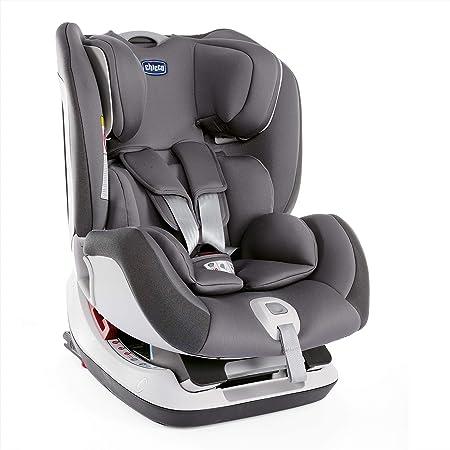 Oferta amazon: Chicco Seat up 012 Silla de coche isofix grupo 012 (0-25kg) con reductor, color gris (Stone) Silla de coche grupo 0+/1/2, Color Stone