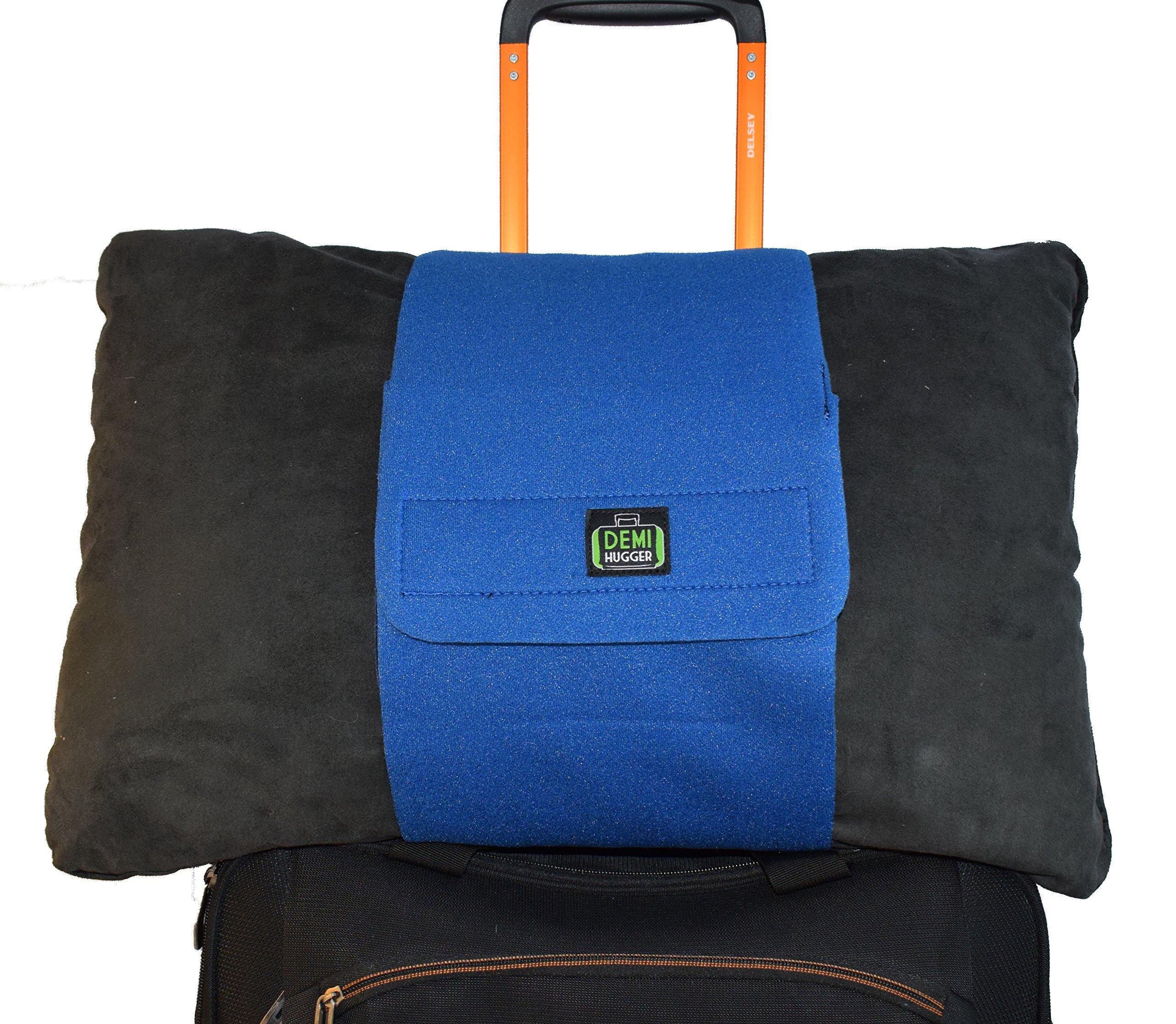 Demi Hugger Travel Luggage Strap (Blue)