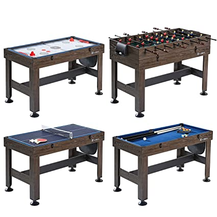 Charmant MD Sports 54u0026quot; 4 In 1 Combo Game Table   Foosball, Slide Hockey,