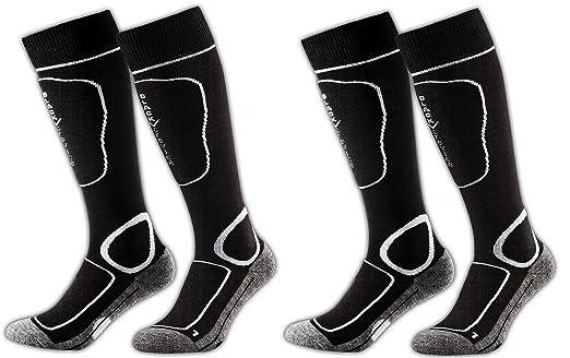 66 opinioni per Black Crevice- 2 paia di calze da sci,