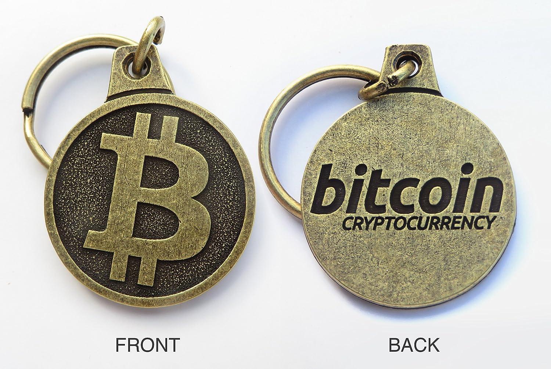 Bitcoin llavero: Amazon.es: Oficina y papelería
