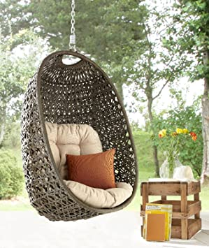 DESTINY Cocoon Hanging Chair Frame Without Suspended Only Hanging Rattan  Chair