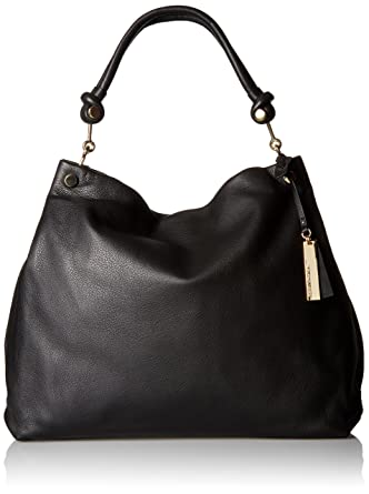 a6a01c1adc6 Amazon.com: Vince Camuto Ruell Hobo, Black: Clothing