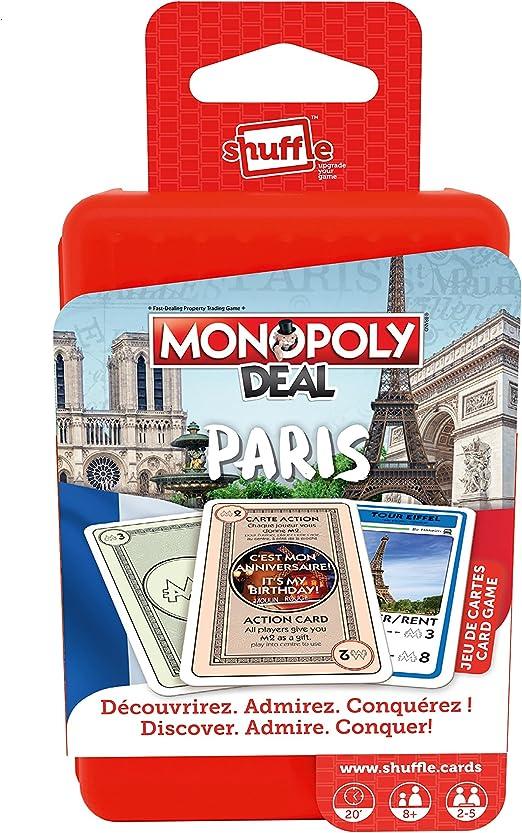 Shuffle – 100216034 – Monopoly Deal – Juego de Tarjetas: Amazon.es: Juguetes y juegos