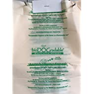bioDOGradable Poop Bags Dog Waste Bags, Not Made from Plastic 100 Single-Pull Bags