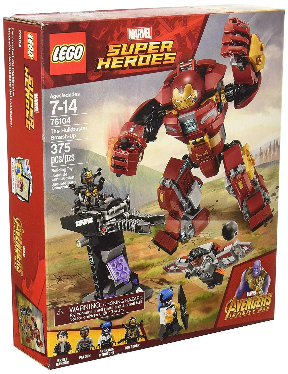 LEGO Hulkbuster Smash-Up 76104