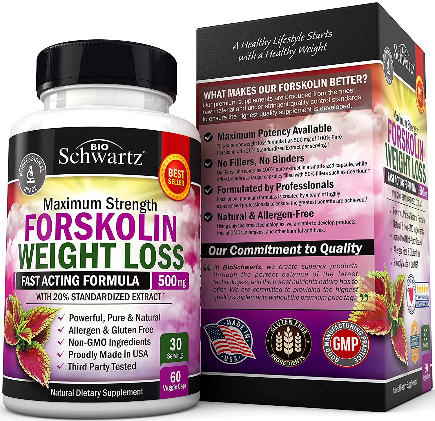 Forskolin Extract For Weight Loss Pure Forskolin Diet Pills Belly Buster Supplement Premium Appetite