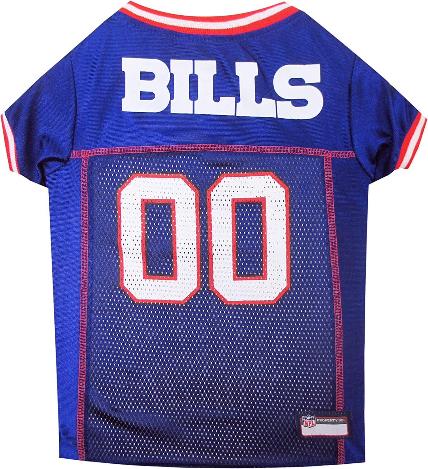 Pets First Buffalo Bills Mesh Jersey for Dogs