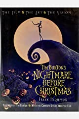 Tim Burton's Nightmare Before Christmas: The Film - The Art - The Vision (Disney Editions Deluxe (Film)) Hardcover